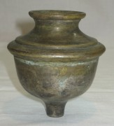 Лампадка старинная, серебрение, «Br. Buch» Варшава 19 век №2086