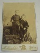 Фотография старинная «дети», Киев 19 век №2388