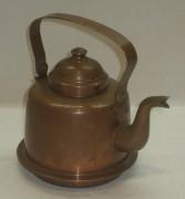 Чайник медный на 1 литр, «Хельсинки» 20 век №2871