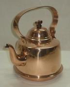 Чайник медный на 1 литр, Европа 20 век №2916