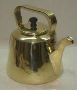 Чайник старинный, латунь, на 3,5 литра №2920