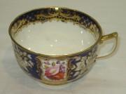 Чашка старинная, фарфор, позолота, 19 век №2929