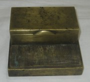 Спичечница старинная, бронза, 19-20 век №3018