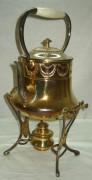 Бульотка старинная на 1,6 литра, серебрение, Plewkiewicz Варшава 19 век №803