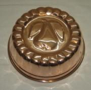 Форма для желе, для выпечки, медь, 20 век №3163