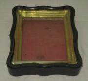 Киот старинный под икону, дерево, стекло, позолота №3171