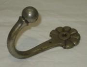 Крючок старинный, никелировка, Россия 19-20 век №3242