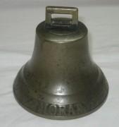 Колокольчик старинный, колокол «MORA», Швеция 19 век №3328