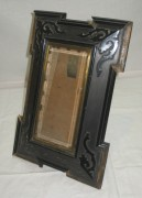 Фоторамка старинная, рамка для фото на ножке №3610