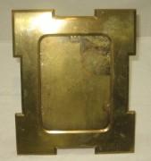 Фоторамка старинная, рамка для фото на ножке, модерн №3637