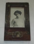 Фоторамка старинная с открыткой, модерн №3639