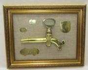 Панно, картина, бочковой кран, с медалями №4358