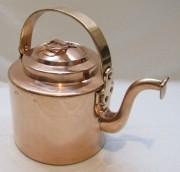 Чайник медный старинный на 3 л, Россия 19 век №4725