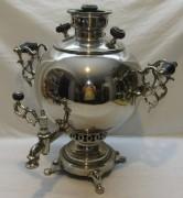 Самовар угольный старинный «шар», на 6 л, «Баташев» 19 век №1088
