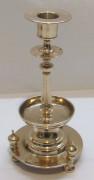 Подсвечник старинный томпаковый «Юдин» Россия 19 век №5169