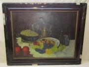 Картина «Натюрморт фруктовый», холст, масло, 20 век №5320