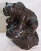фигура, статуэтка «медведь, резьба по дереву, большой №7249