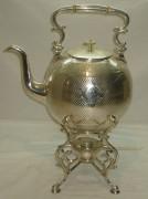 Бульотка, серебрение, на 5 литров, Br. Buch Варшава 19 век №397